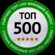 ТОП-500 франшиз России
