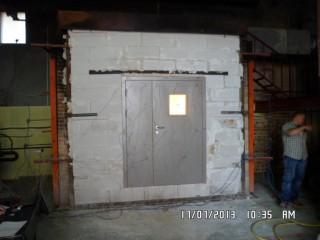Производство Противопожарных металлических дверей.