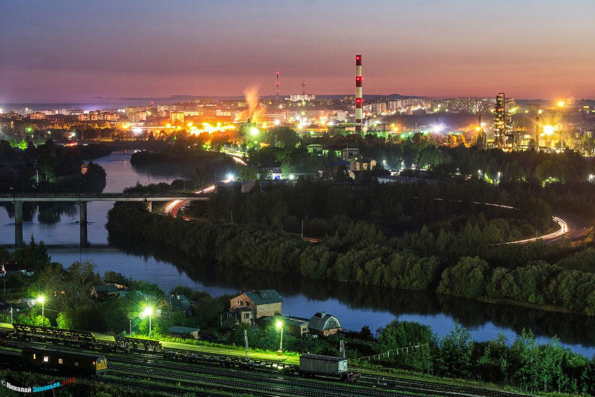 Ухта - невероятно красивый город!