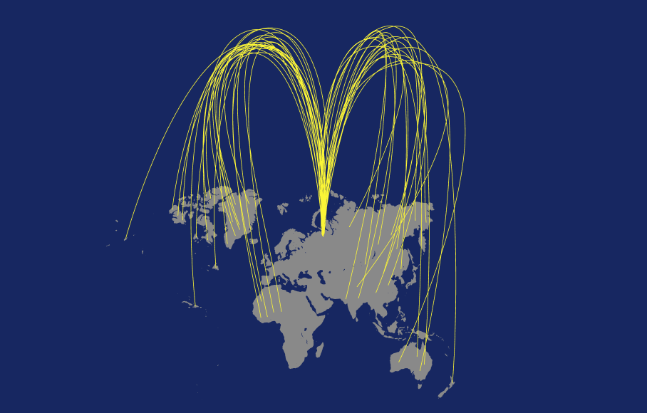 Макдональдс в мире