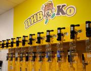 Во всех магазинах установлена холодильная камера для хранения разливных напитков. Зона розлива - самая важная зона в нашем магазине, так как разливные напитки - это магистральный продукт, который приносит основную прибыль.
