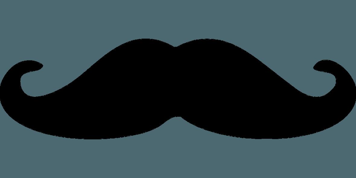 Картинка нос с усами для детей на прозрачном фоне