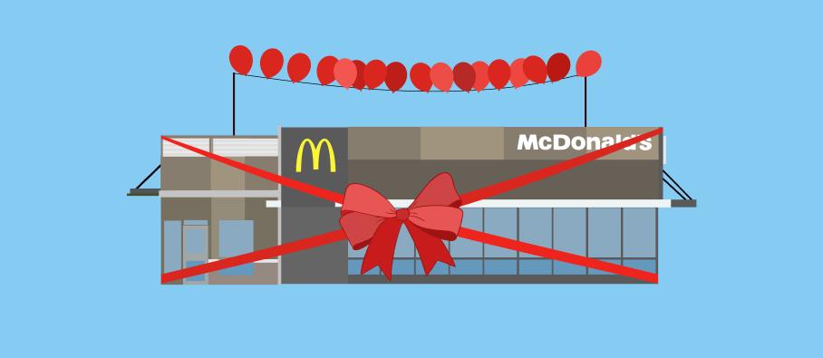 Как открыть ресторан Макдоналдс