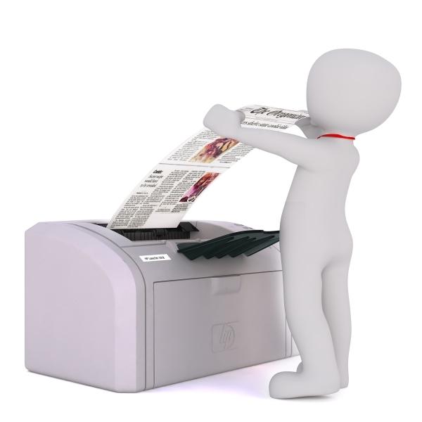 Признания, смешная картинка с принтером
