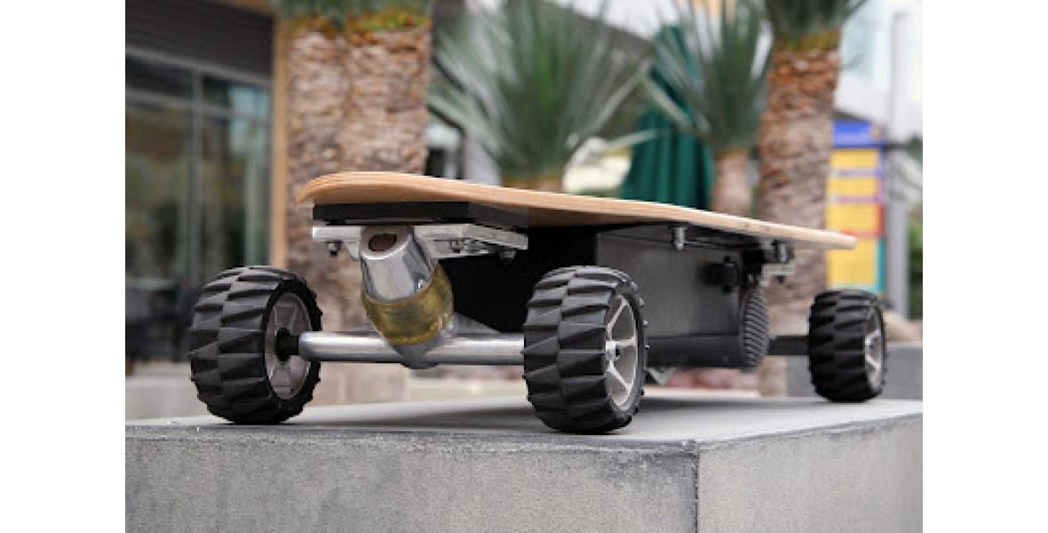 Как сделать электро скейтборд