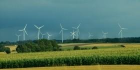 Установка ветряных электростанций