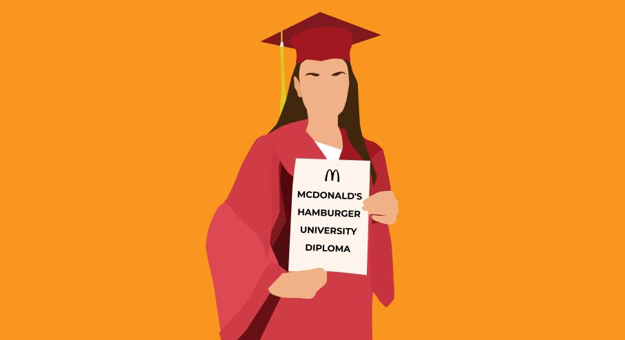 Обучение в Макдональдс
