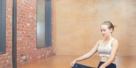 Интерактивный коврик для йоги