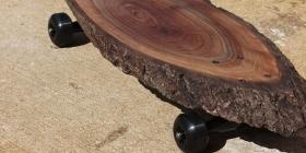 Скейтборды из цельного куска древесины