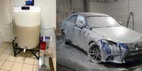 Производство автошампуня