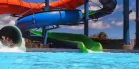 Надувной аквапарк